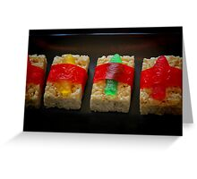 Sushi for Kids Greeting Card