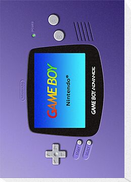Game Boy Advance Case by Colossal