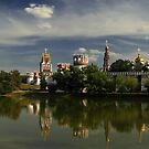 Novodevichy Convent by Irina Chuckowree