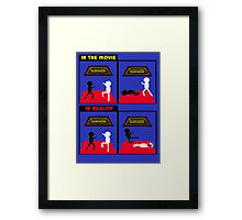 Karate Kid - Reality vs the movie Framed Print