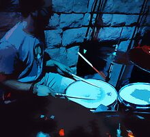 BlueDrums by SaraSueEss