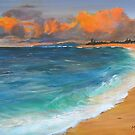 Evening Seascape by Mike Paget