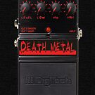 Death Metal iPhone Case by PerkyBeans