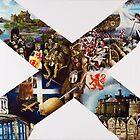 Scotland Cross of St Andrew by patriotart