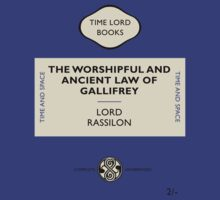 The Worshipful and Ancient Law of Gallifrey by Tim Foley
