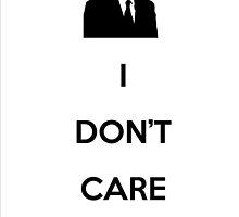 Ron Swanson - I don't care by Johan Luiggi