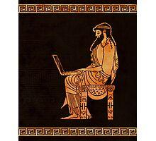 Ancient Greek Businessman Photographic Print