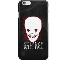 Doctor Who - Silence Will Fall iPhone Case/Skin