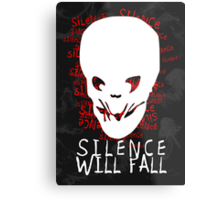 Doctor Who - Silence Will Fall Metal Print