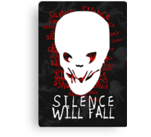 Doctor Who - Silence Will Fall Canvas Print
