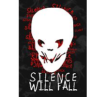 Doctor Who - Silence Will Fall Photographic Print