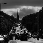 Hanover Street - Princes Street by Chris Clark