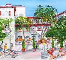 The Del Mar Hotel - San Clemente Ca. by Rob Beilby