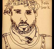 Robb Stark by George Katsaros