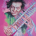 Ravi Shankar by MelannieD