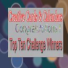 Banner for Top Ten Challenge winner for Creative Cards & calendars by aldona