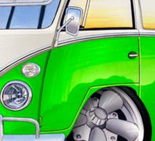 VW Splitty (11 Window) K Sticker