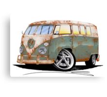 VW Splitty (11 Window) O Canvas Print