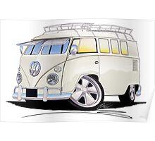 VW Splitty (11 Window) N Poster