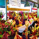 Flower Bazaar at Pike Place Market by M-EK