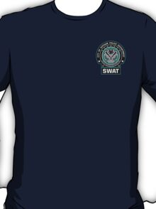 Gotham City Police SWAT Unit - Pocket Logo T-Shirt