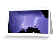 Lightning 2012 Collection 324 Greeting Card