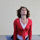Yoga Studio Photo Shoot by Emma  Wertheim~Blue Butterfly Art