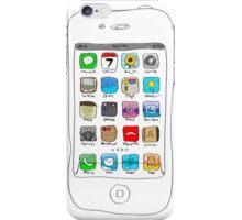 Phone illustration iPhone Case/Skin