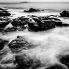 Surf Pounding Rocks, Thunder Hole, Maine by FStopGuy