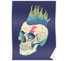 Skull Punk Poster