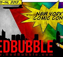 #Redbubble @ New York Comic Con 2012 by Guilherme Bermêo