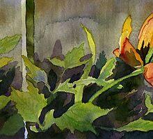 Late Season Tulip by Andrea Gabriel