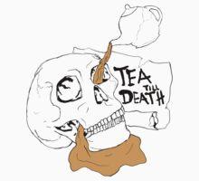 Tea Till Death Colour T-Shirt