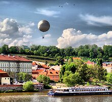 Prague - balloon.. by Eugenio
