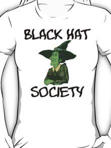 "Halloween ""Black Hat Society"" T-Shirt T-Shirt"
