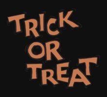 "Halloween ""Trick or Treat"" T-Shirt by HolidayT-Shirts"