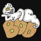 "Halloween ""Boo"" T-Shirt by HolidayT-Shirts"