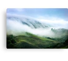 Morning Fog on Mission Peak Canvas Print