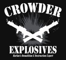 Crowder Explosives by waywardtees