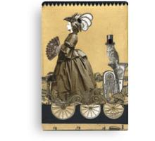 Magic Masquerade Train -  Victoria & her Baritone Canvas Print