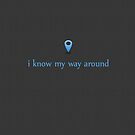 I know my way around by petrichor