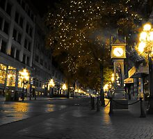 Golden Gastown  by LinneaJean