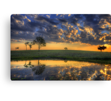 While You Waited Canvas Print