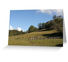 The Farm On Syndicate Road Greeting Card