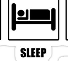 Eat Sleep Find Horcruxes Sticker