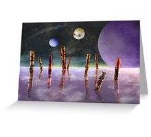 The Songs of Wilwahal Greeting Card