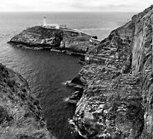 South Stack Lighthouse by Yampimon