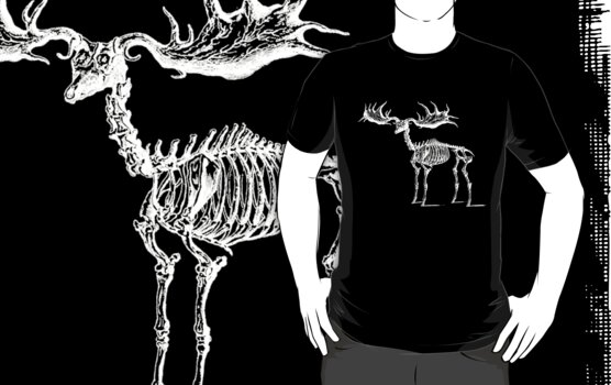 Skeleton Moose by pwrighteous