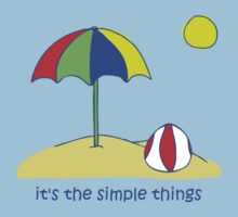 Simple Things - Beach Ball by Jon Winston