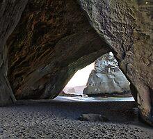 Through the Portal - Coromandel Peninsula, North Island, New Zealand by Matthew Kocin